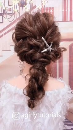 Best Hairstyles for Long Hair Part 5 – Tutorial Per Capelli Flower Girl Hairstyles, Bride Hairstyles, Cute Hairstyles, Beautiful Hairstyles, Party Hairstyles, Easy Hairstyle, School Hairstyles, Hair Upstyles, Long Hair Video