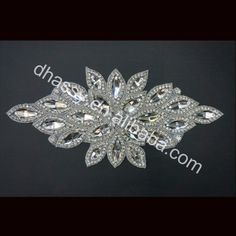 Allibaba.com Wholesale DHL Free Shipping Crystal Appliques For Wedding Dresses DH-523