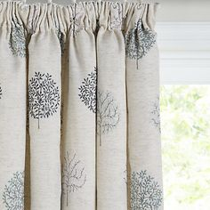 Buy John Lewis Mini Olive Trees Lined Pencil Pleat Curtains, Duck Egg Online at johnlewis.com Hallway Curtains, Tree Curtains, Pleated Curtains, Lined Curtains, Olives, Tree Line, John Lewis Curtains, Pencil Pleat, Olive Tree
