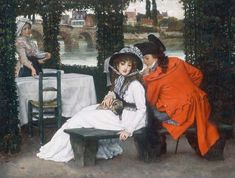 James Jacques Joseph Tissot Paintings - Art In The Victorian Era