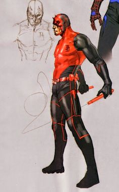 Secret War Daredevil wearing a special stealth suit designed by SHIELD and used by Daredevil during a covert mission in Nick a Fury's secret war against the government of Latveria.