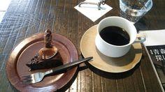 石田珈琲店/ケーキセット(愛人【ラマン】、ショコラ【キャラメル】)2015/5/5