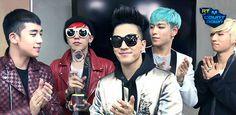BIGBANG celebrating their victory backstage!