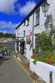 The Old Ferry Inn, Bodinnick, Fowey, Cornwall