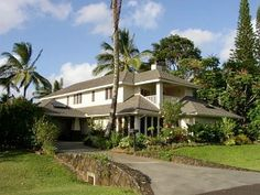 SPECIAL DISCOUNT NOW! Gorgeous, Luxury Home, Waterfalls- Walk to Beach Vacation Rental in Princeville from @homeaway! #vacation #rental #travel #homeaway