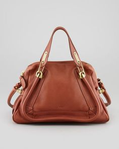 Paraty Medium Shoulder Bag, Brown by Chloe at Neiman Marcus.