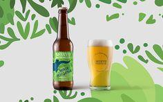 MONYO craft beer brewery rebranding on Behance