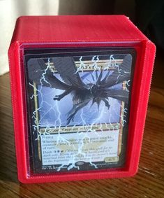 The EXPLODERATOR  Standard size MTG deck box by DeckMeOut on Etsy