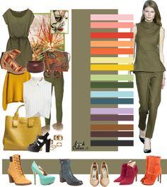 Как сочетать цвета в одежде. Модное сочетание цветов одежды 2017-2018 года. Как одеваться красиво и стильно по цвету - фото примеры.