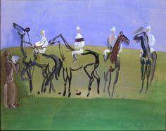 Raoul Dufy, DEAUVILLE AU DEPART