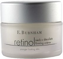 Retinol Neck and Décolleté Créme - 1 Oz. (Old Jar) - Active ingredients reinforce skin support, increasing skin's firmness and counteracting the visible signs of aging. Smoothes texture and tone on the neck and décolleté, for a more youthful appearance. Textures And Tones, Best Natural Skin Care, Active Ingredient, Creme, Retinol Products, Jar, Signs, Shop Signs, Glass