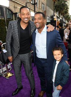 Will Smith and Alfonso Ribeiro at the Aladdin Premiere 2019 Alfonso Ribeiro, Fresh Prince, Jada, Aladdin, Will Smith, In Hollywood, Cute Couples, Actors & Actresses, Movie Tv