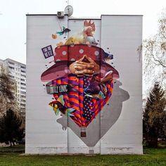 Peintures sur façade