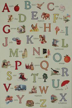 Hollander's - Florentine Print Alphabet English