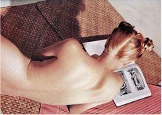 Beauty shot. Photo by Louise Dahl-Wolfe, Harper's Bazaar, July 1939.    LOVE