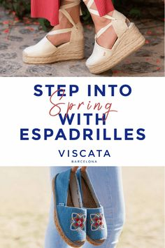 7dbb0cd8cee Step into Spring with Women s Espadrilles. Handcrafted in Spain