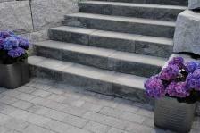 Trappeelement #blokk #asak @asak_miljostein Garden Steps, Garden Planning, Paths, Stairs, Image, Gardening, Home Decor, Doors, Wall