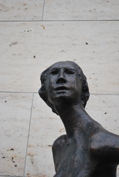 Vernal Figure by Ralph Brown, 1957, Bronze