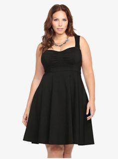 Sweetheart Swing Dress from Torrid. plus size