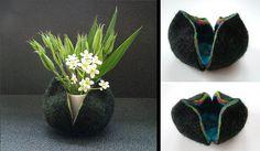 Felt Case for Vase   Flickr - Photo Sharing!