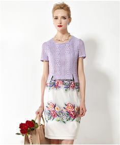 Lace Two Piece Dress Short Sleeve Dresses, Dresses With Sleeves, Daytime Dresses, Dresses For Work, Summer Dresses, Two Piece Dress, Winter Time, Lace, Color