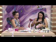 (18) Lata estilo Shabby Chiq por Ana Paula Alves - 02/03/2017 - Mulher.com P1 - YouTube