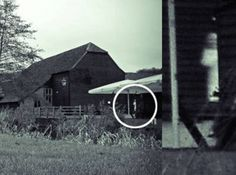 Ghostly Farm Boy - This picture was taken in the farm located in Hertfordshire, England by the photographer himself, Neil Sandbach. He was not able to see it right away, only after when he took time to look at the result of the shots that he had around the farm. He was frightened when he saw it that a child was hanging around. He later made some queries to the farm owners if they have experienced something, and they confirmed to him that they were seeing a boy a couple of times.