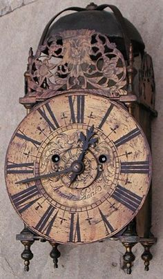1800s lanterns | Early 1800's Lantern Clock More Pins Like This At : FOSTERGINGER @ Pinterest.