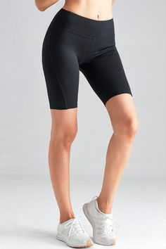 black Cycling Pants Beautiful Prom Dresses, Keep Fit, Blue Leggings, Different Styles, Dark Blue, Active Wear, Cycling, Shorts, Formal Dresses