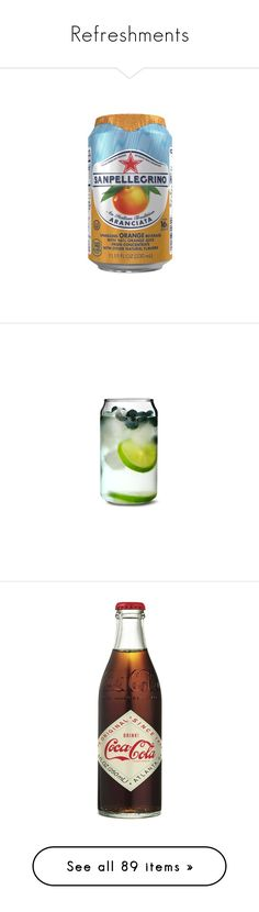 """""""Refreshments"""" by slufsa ❤ liked on Polyvore featuring drinks, home, kitchen & dining, drinkware, filler, food, food and drink, glass highball, high-ball glass and highball cocktail glasses"""