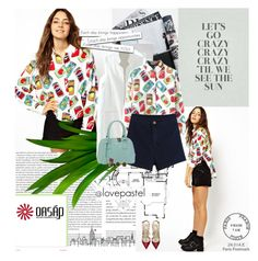 """""""No 205:Great Style! (Oasap.com) (@lovepastel)"""" by lovepastel ❤ liked on Polyvore"""