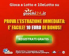 Giochi24: Lotto e 10elotto