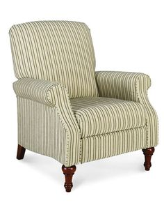 La-Z-Boy  Raleigh recliner in Northwales Barley fabric, La-Z-Boy; la-z-boy.com for stores.
