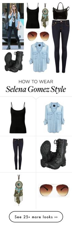 """Selena Inspired"" by vidhip348 on Polyvore"