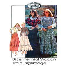 Bicentennial Wagon Train Pilgrimage McCalls by FindCraftyPatterns
