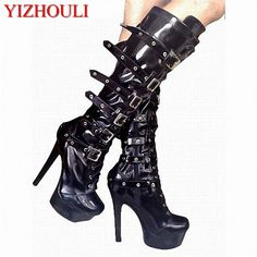 Painstaking Sexy 15 Cm High-heeled Sandals Nightclub Dance Shoes Pole Dancing Shoes Model High Heels Womens Shoes Office & School Supplies