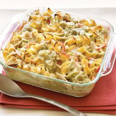FREEZER-FREINDLY MEAL: Mediterranean Tuna-Noodle Casserole  (Freeze up to 3 months)