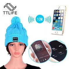[Wireless Headphone] Bluetooth Earphone Hat Cap Headphones Stereo Bluetooth Headset Casque Audio For iphone Smartphone
