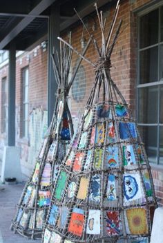 Art Tipi Art Source by .Tipi Art Source by . Art For Kids, Crafts For Kids, Arts And Crafts, Art Crafts, Diy Art, Land Art, Nature Crafts, Outdoor Art, Art Club
