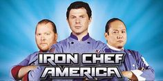 Iron Chef America!  I can't cook a lick, but I love to watch cooking shows!
