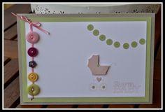jussis-papierwelt Baby Karte