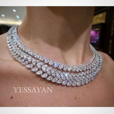 Diamond Necklaces : This is Who we are this is What we do Best @Yessayan #Yessayan #DiamondNecklace