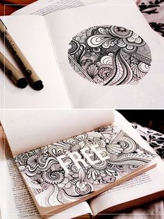 inspiration+/+danielle+aldrich's+sketchbook+|+korywoodard.com+#Zentangle
