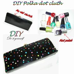 Polka dot cluth!! :))