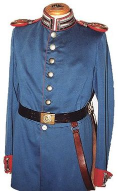 German Pre WW1 Army Uniform.