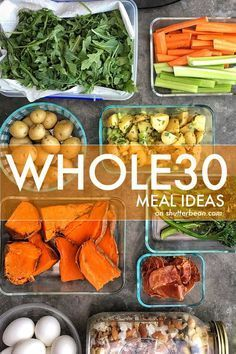 Feeling bored with your Whole30 routine? Check out these Whole 30 Meal Ideas