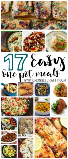 If you are lazy like me, then you can appreciate a good meal that basically makes itself. So I put together a list of 17 easy one pot meals.