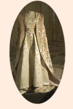 Coronation gown of Marie of Romania at the coronation of Nicholas II of Russia