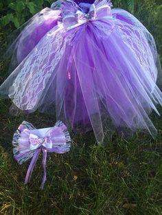 Tutu Dress, Little Girl Tutu, Purple & Lace Tutu by CoconutCoutureDiva on Etsy