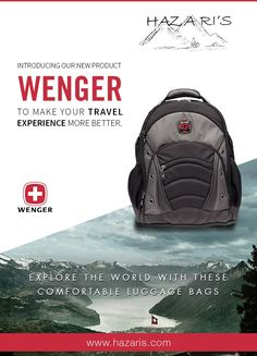 f69b7e473 Gear up with Wenger Laptop Backpack by Hazaris Buy Online at http://hazaris